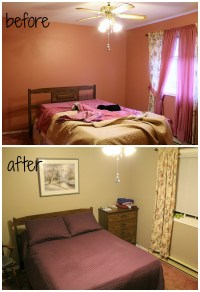 Turtles and Tails: Dusty Rose Has to Go (Bedroom Makeover)
