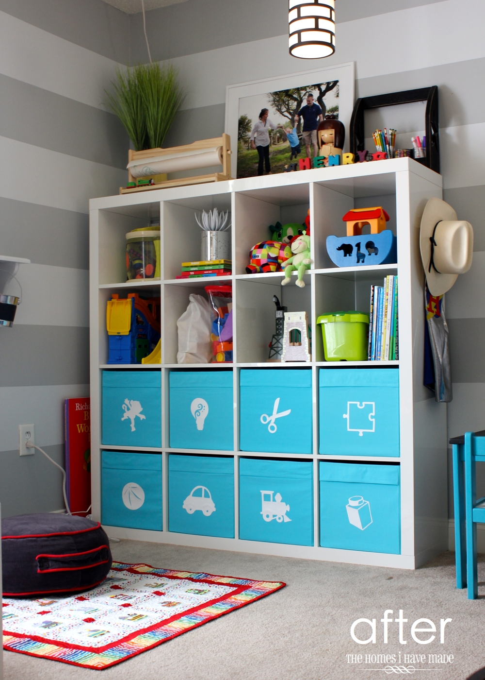 Toy Organizer Ikea Toy Storage In An Ikea Expedit | The Homes I Have Made