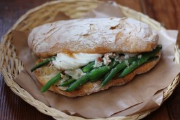 Bean Sandwich, Meat.Cheese.Bread