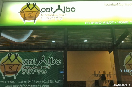 Mont Albo, Filipino Traditional Massage and Home Therapy.