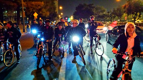 San Jose Bike Party January 17 2014