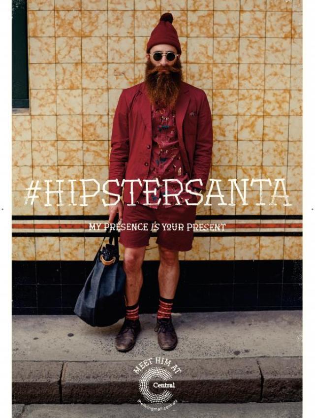 #HIPSTER SANTA 3