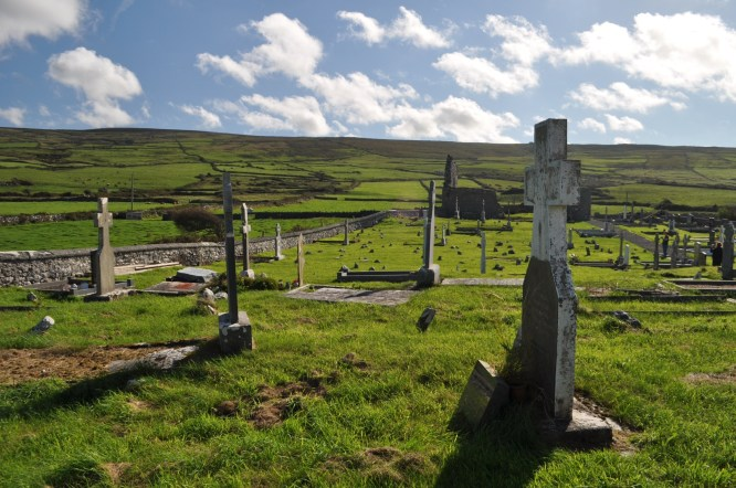 Travel to Ireland: Famine Cemetery  of mid-1800s