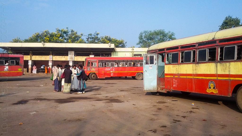 Mehkar bus stand