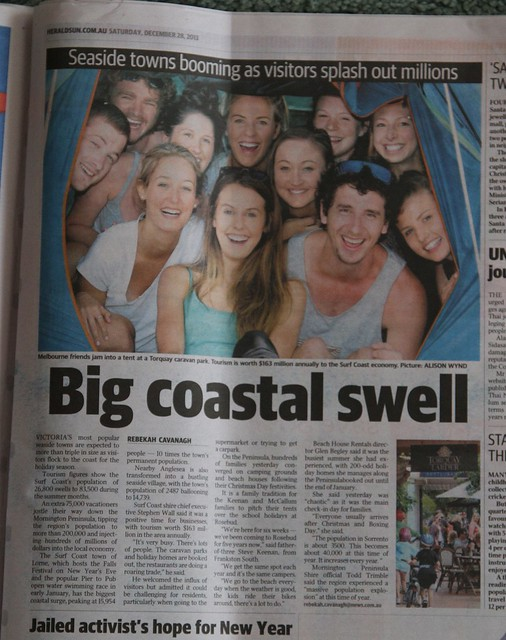 The version in the 'Herald Sun'