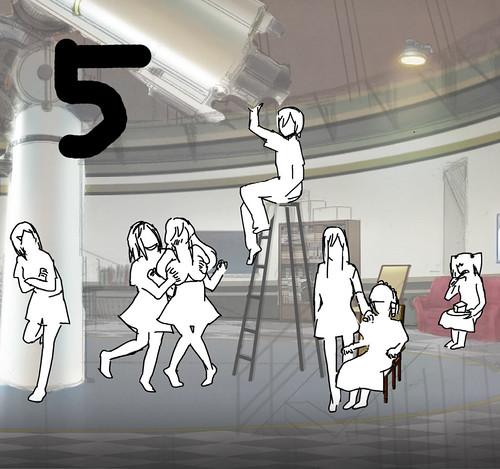 140313(1) - 新角色「奈波&初菜」竟露餡、科幻動畫《極黒のブリュンヒルデ》(極黑的布倫希爾德)於4/6首播、第二張海報出爐! 2 FINAL