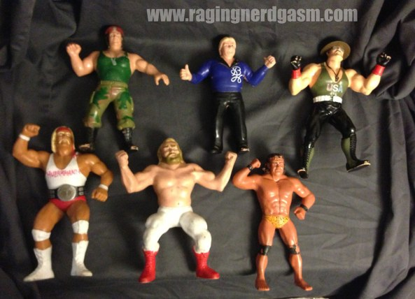 LJN Super Stars and Hasbro Gi Joe Mail Away Sergeant Slaughter