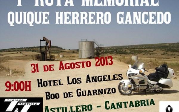 1ra Ruta Memorial Quique Herrero Gancedo
