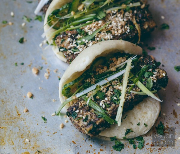 Salt and Pepper Tofu Gua Bao