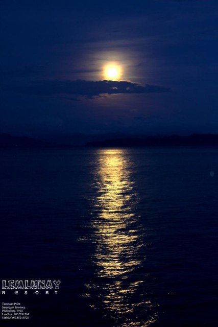 FULL MOON, SARANGANI BAY, LEMLUNAY RESORT