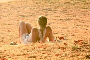 Chilling at Kits Beach