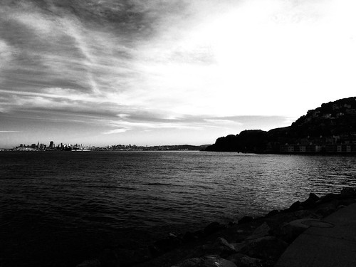 San Francisco Bay from Sausalito by Coolgarriv