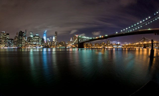 New York City skyline June 13, 2013
