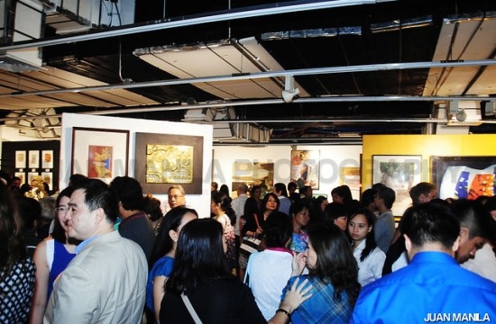 Friends, media and art enthusiasts flocked on the opening night.