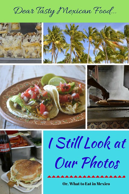 Dear Tasty Mexican Food, I Still Look at our Photos -- Or, What to Eat in Mexico