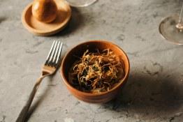 MakMing_images_46 (mushroom chawanmushi (seasonal mushrooms in mushroom stock_dashi custard with fried enoki, micro red shiso))