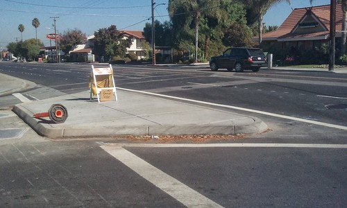 Crosswalk removed from Forest Avenue at Winchester