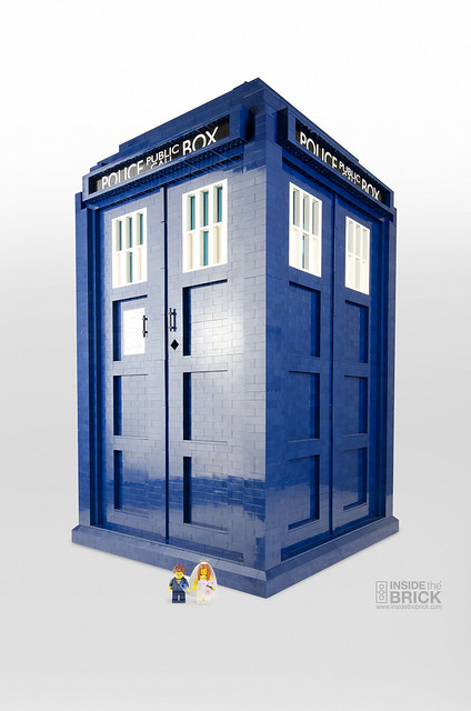 Awesome LEGO TARDIS 1