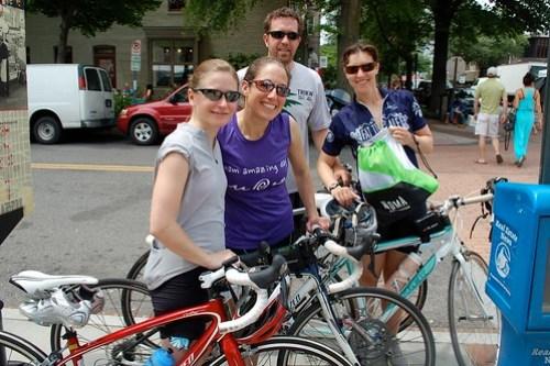 Jen, Amy, Wes and Liz, Eastern Market, Washington, DC
