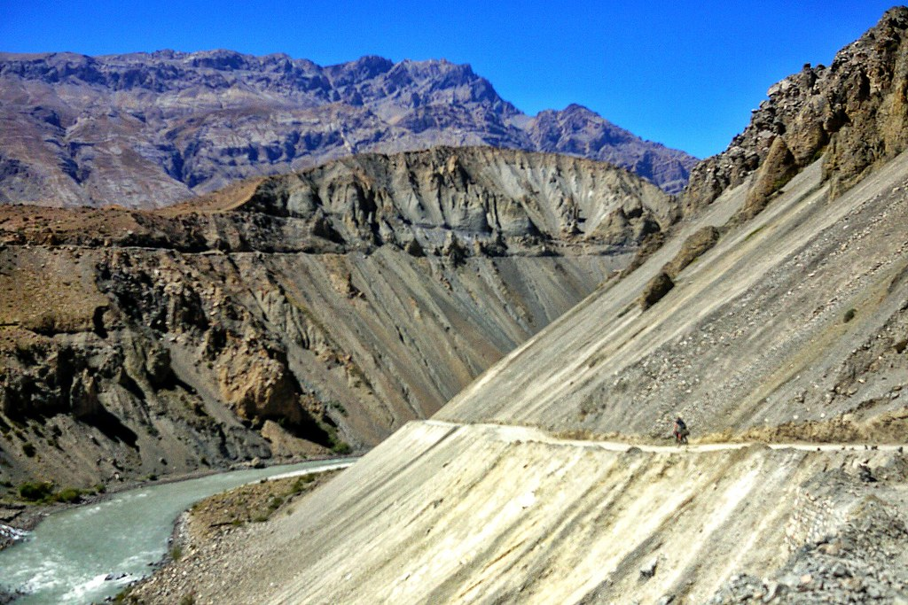 Road above the Spiti