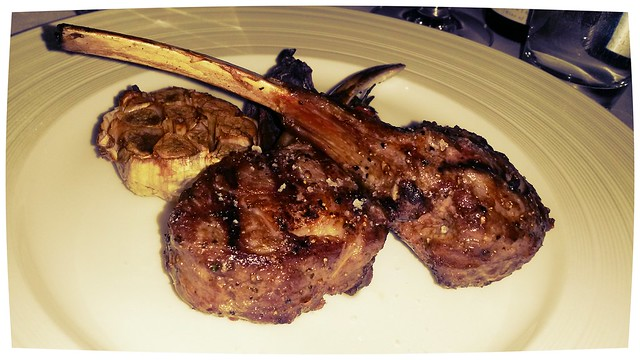 Lamb chops at Gold