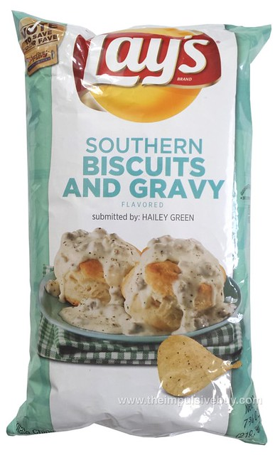 Lay's Do Us a Flavor Southern Biscuit and Gravy Potato Chips