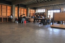 Tanner Goods Workshop at the Leftbank Building