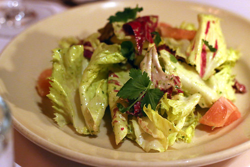 Chicory salad at Chez Panisse