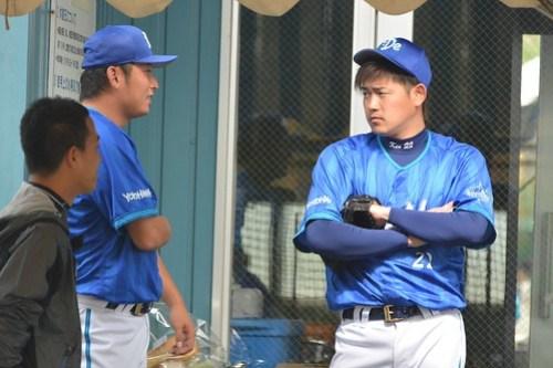 神内選手と高崎選手