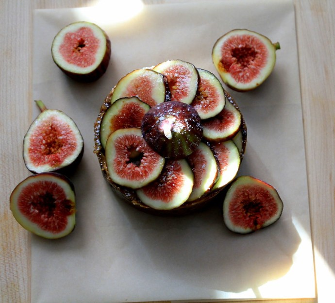 fig almond cake