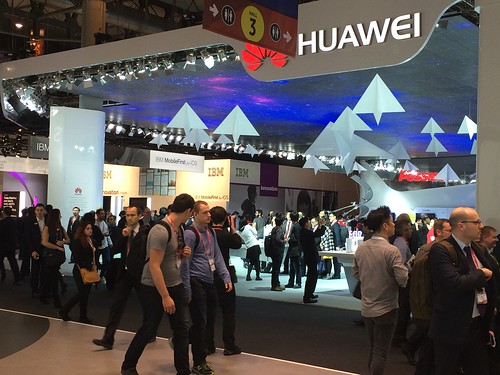 MWC15 Huawei stand