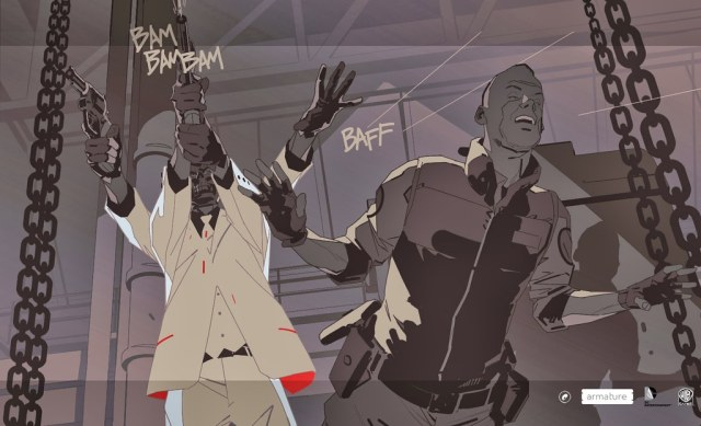 Batman: Arkham Origins Blackgate illustration created by Calum Alexander Watt