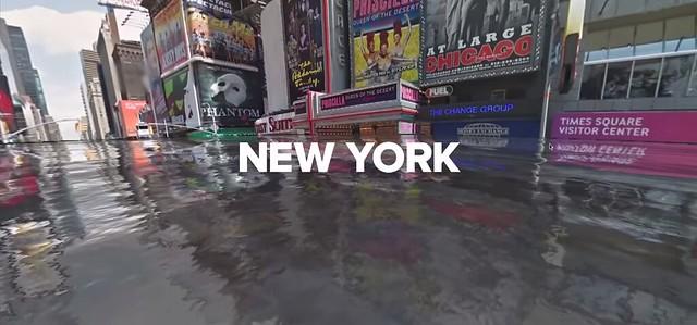 UNDER WATER New York