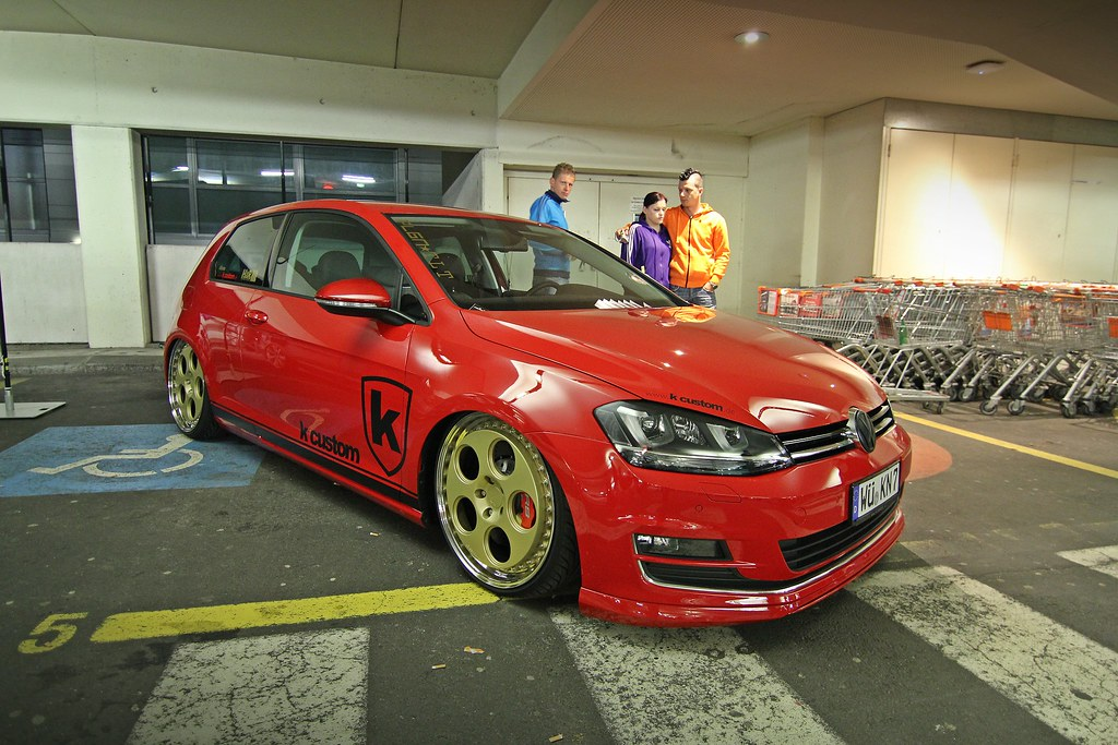 golf 4 with r8 audi rims