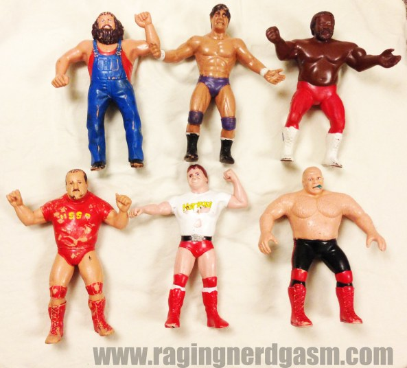 ljn all stars wrestlersby kenner