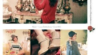 [穿搭] LS Korea 。 復古質感的秋系女孩