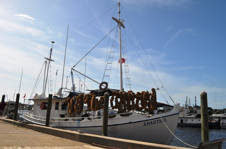 """Anastasi"" - Tarpon Springs Sponge Docks, Fla, Aug. 30, 2014"