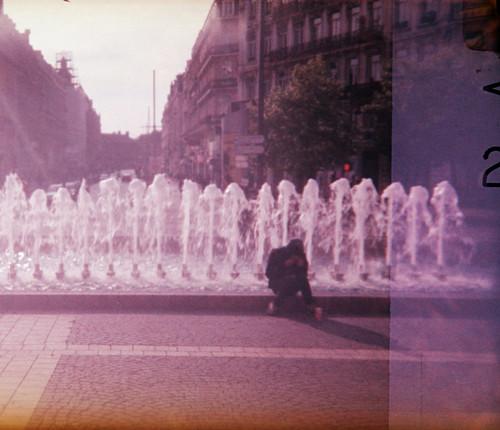 Fontaine de la Gare Lille Flandres
