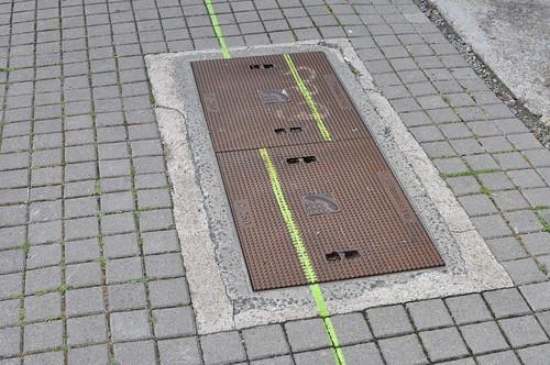 Suivez la ligne verte !