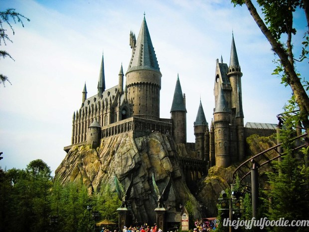 Hogwarts from Dragon Challenge