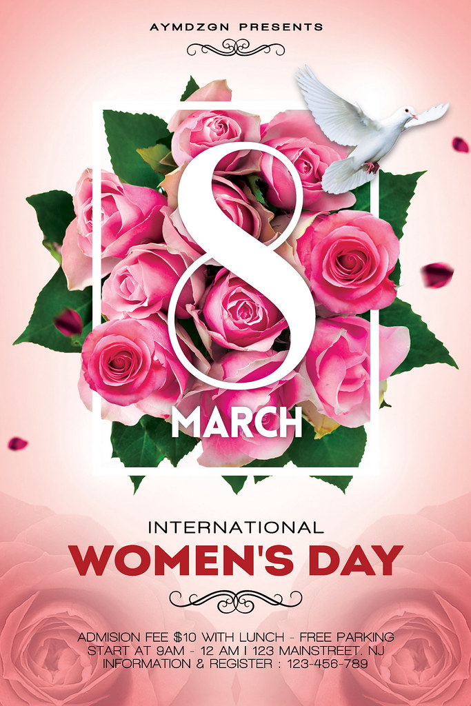 Women\u0027s Day Flyer Features flyer  - PSD files Full Layere\u2026 Flickr
