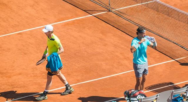 Andy Murray and Rafael Nadal