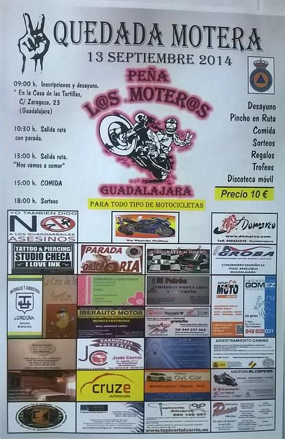 Quedada Motera Peña Los Moteros - Guadalajara