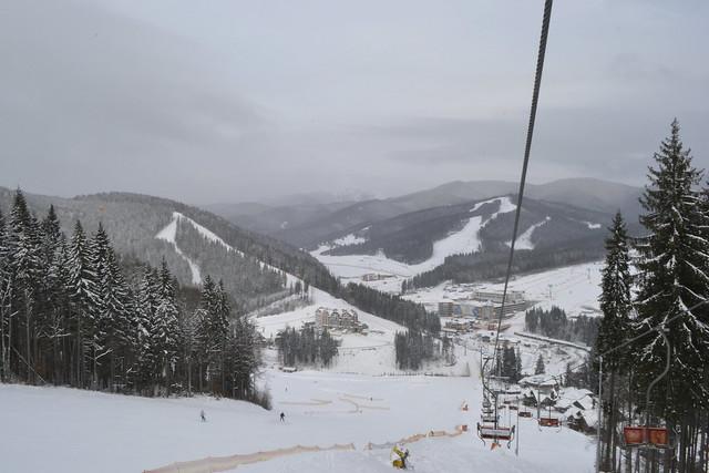 What To Do in Bukovel Ukraine _ Ski Slopes