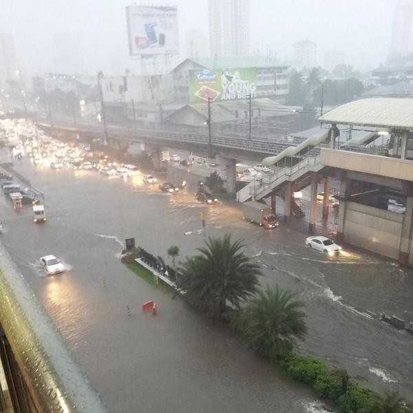 EDSA as a river