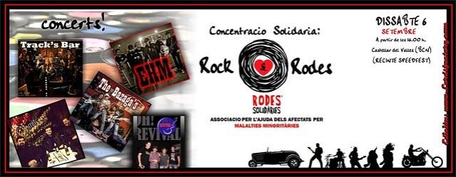 Concentració Solidaria Rock&Rodes - Castellar del Vallés