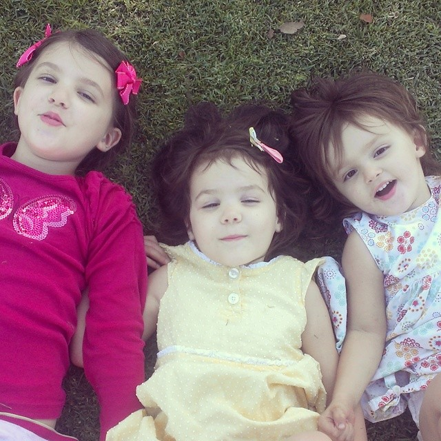 This will be their first album cover... #threesisters #tripletrouble