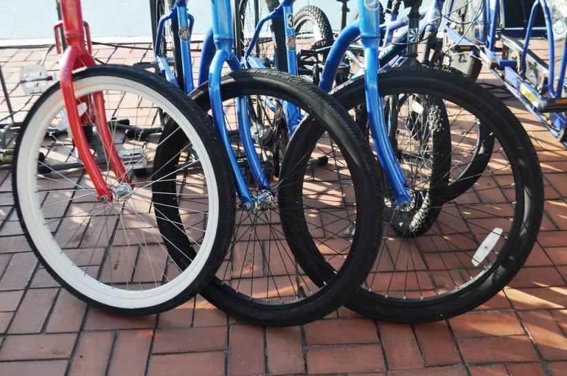 Bicycles are Available for Rent at the Best Western Plus Yacht Harbor Inn, Dunedin, Fla., Aug. 2014