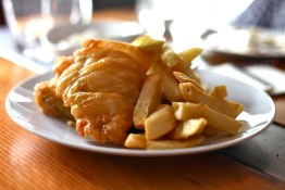 Fish & Chips, natch | The Fat Badger