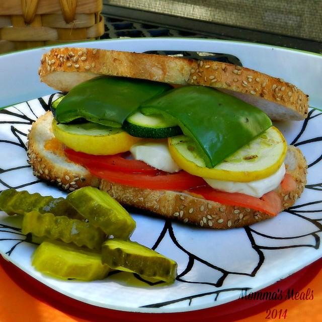 Veggie Loaded Sandwiches SSp